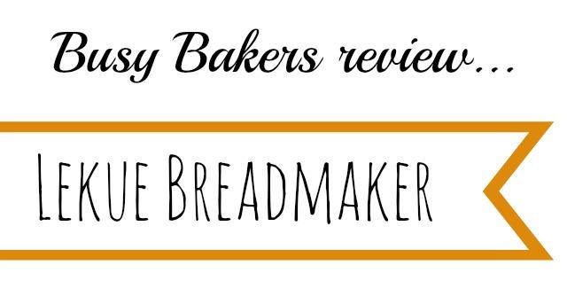 Lekue bread maker review