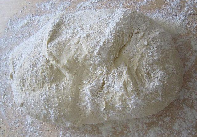 bread dough proving