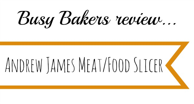 Andrew James meat slicer review