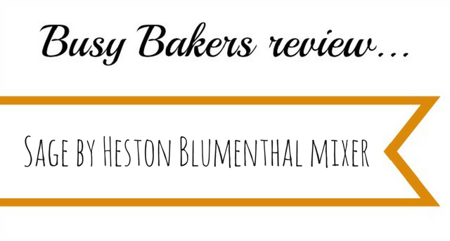 Sage by Heston Blumenthal mixer review
